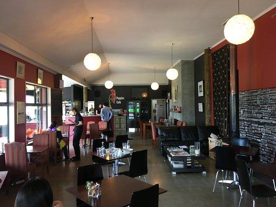 Twizel, Nowa Zelandia: inside the cafe