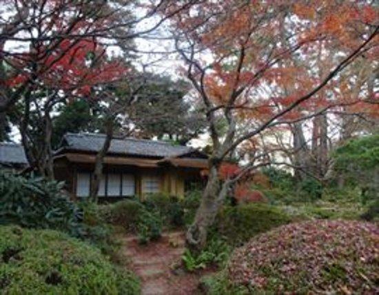 東京都庭園美術館, 日本庭園