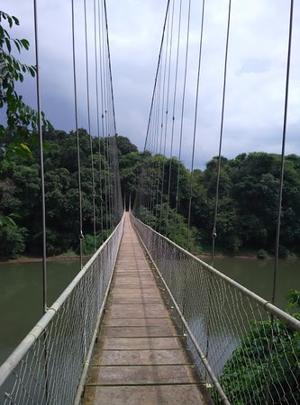 "Nilambur, Hindistan: ""Longest Hanging Bridge"""