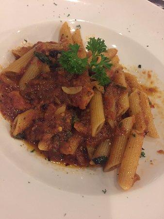 Sala Rossa Italian Restaurant: penne arrabiata