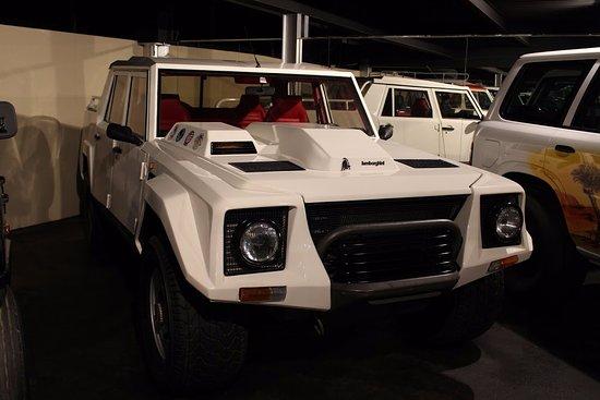 Emirates National Auto Museum :  4X4 Lamborghini