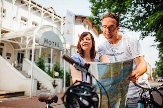 Graal-Mueritz, Germany: AKZENT Hotel Residenz_Graal-Müritz_Fahrradverleih