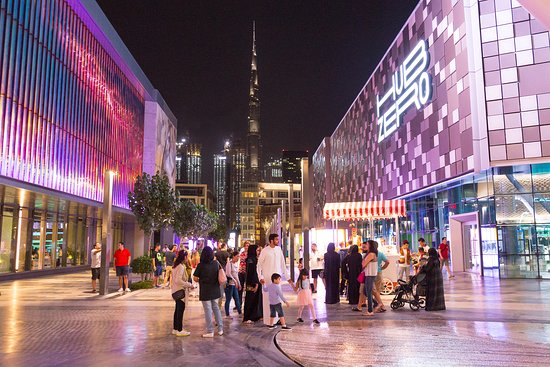 Dubai, United Arab Emirates: Take a stroll down the City walk lined with designer stores and restaurants