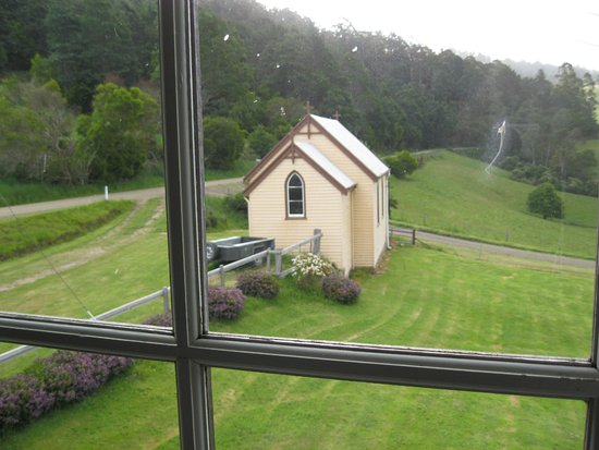 Goulds Country Guest House: View of little old church from our (upstairs) room window
