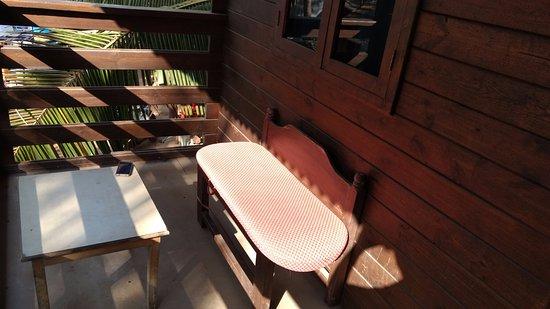 Anjuna, الهند: Balcony