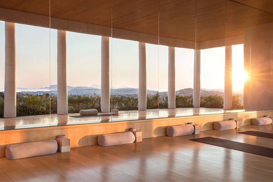 Kranidi, กรีซ: Amanzoe Spa Yoga Room