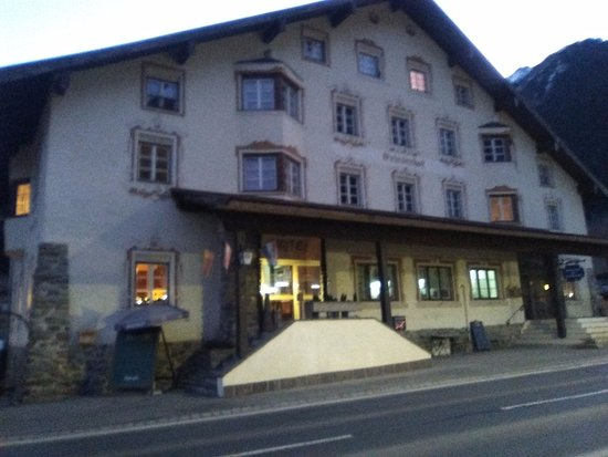 Gries im Sellrain, Austria: Vista dell'esterno dell'albergo