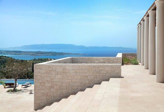 Kranidi, Hellas: Amanzoe Stairway to Swimming Pool - 5 Bedroom Villa
