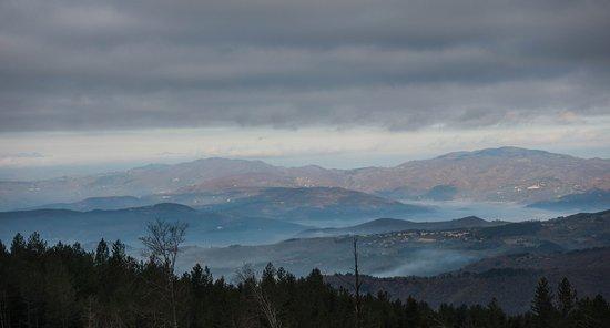 Vallombrosa, Italia: panorami che tolgono il fiato