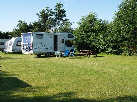 Roedvig, Denmark: Stellplatz  til autocamper og plads til camping vogn