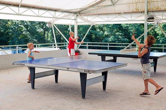 Sainte-Catherine-de-Fierbois, Fransa: Ping-pong