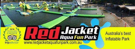 Coolum Beach, Australia: Red Jacket Aqua Fun Park Sunshine Coast original Aqua Fun Park.