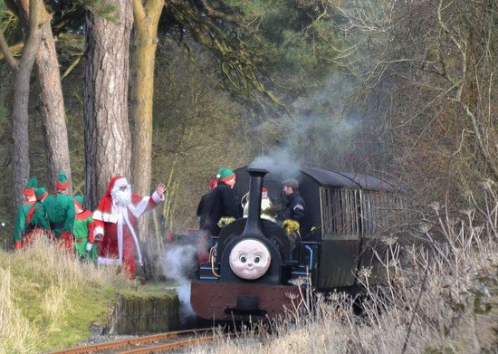 Llanuwchllyn, UK: 2016 Santa trains at the Bala Lake Railway