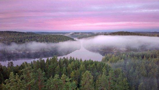 Kouvola, Suomi: Scenery at Repovesi