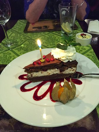 My birthday surprise cake