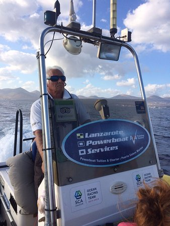 Lanzarote Powerboat Services : Captain Norman Sparrow