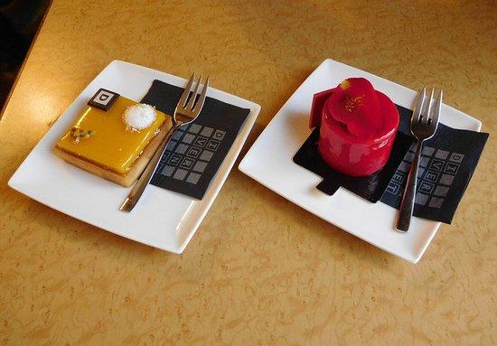 Restaurant Pâtissserie Saolon de thé Divernet : On n'ose même pas à les manger, tellement c'est beau!