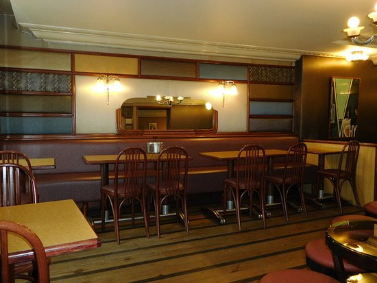Restaurant Pâtissserie Saolon de thé Divernet : Intérieur
