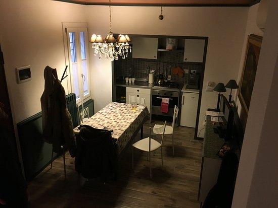 Sala pranzo e cucina - Picture of Borghetto Panigale, Borgo Panigale ...