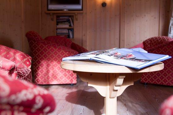 Hotel Genzianella: Saletta tv/relax