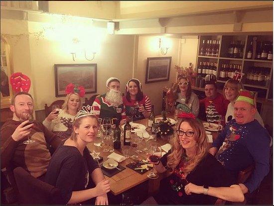 Welburn, UK: Enjoying christmas fine-dining!