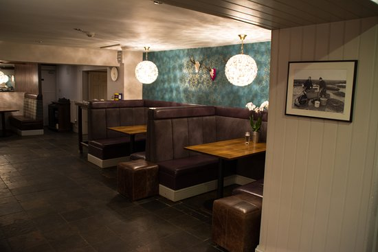 Titchwell, UK: Bar Booths