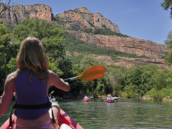 Roquebrune-sur-Argens, Frankrike: La Base du Rocher Canoe Kayak sur l'Argens - Var - Provence