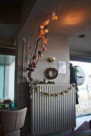 da vinci interieur aangepast aan de tijd van het jaar kerst