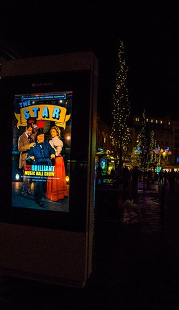 Playhouse Theatre: Electronic Billboard for The Star