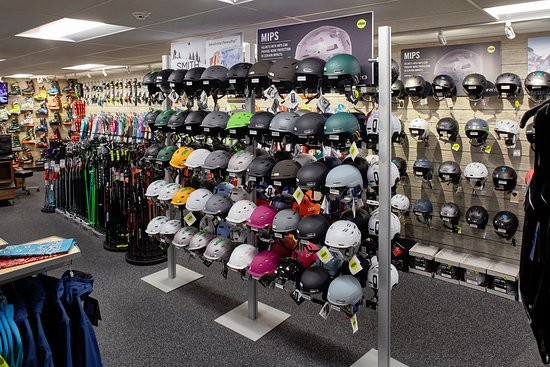 Ski Helmets at Christy Sports Vail Colorado Picture of Christy