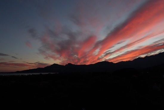 Auberge du Maquis : Gigot d'agneau e Magret de canard - tramonto a Calvi