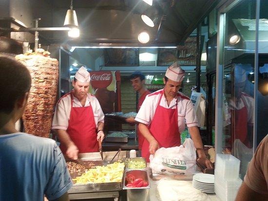 Tatseven Restaurant: chawarma