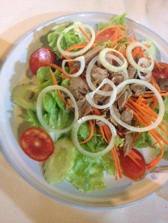 Da Mario : salade au Thon