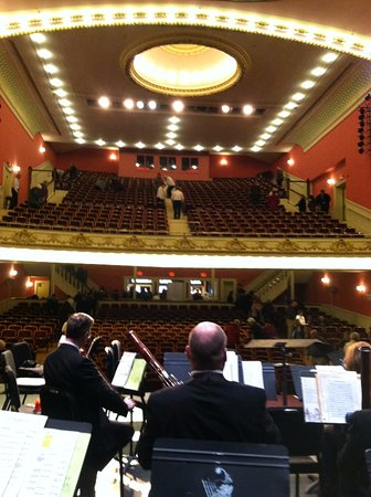 Rutland, VT: Backstage with VSO at Paramount, 2016 Holiday Concert