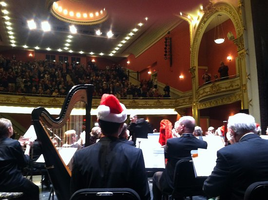 Paramount Theater: Backstage with VSO at Paramount, 2016 Holiday Concert