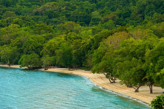 Moyo Island, Indonesien: Aeiral view of Amanwana