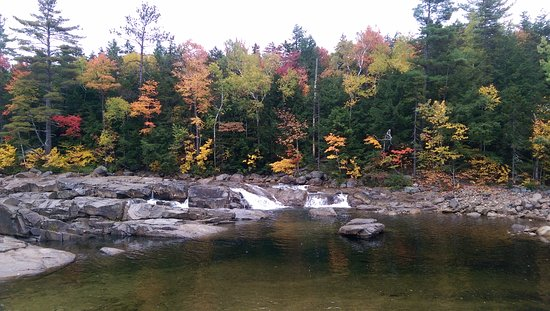 Chocorua, NH: Champney Falls