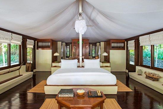 Amanwana Tent Bedroom