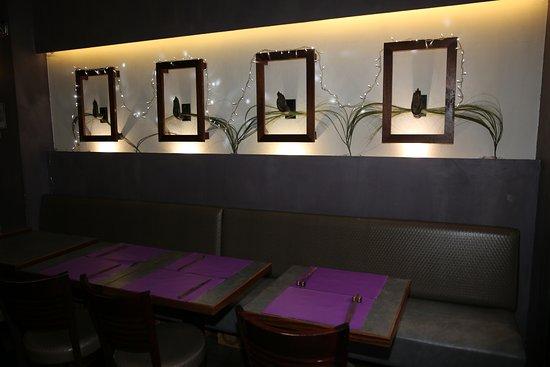 Thai Vien 2  PARIS. Restaurant Thai,Vien 2. à la décoration sobre