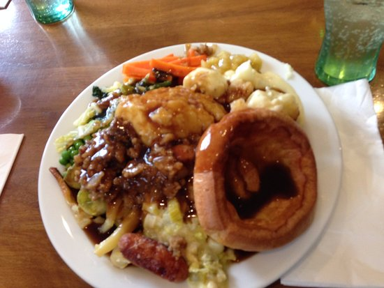 Pandy, UK: Sunday carvery