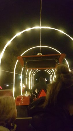 The Hay Hay Ride through the Christmas