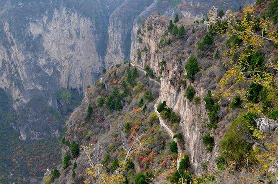 Huguan County, Κίνα: Taihang Canyon.