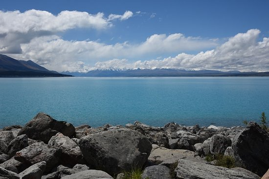 Lake Pukaki From The Visitor S Center