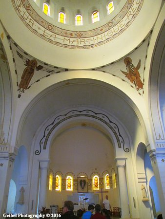 interior view photography. Wonderful Interior Balata Cathedral SacreCoeur De Balata Interior View Of Church Intended View Photography T
