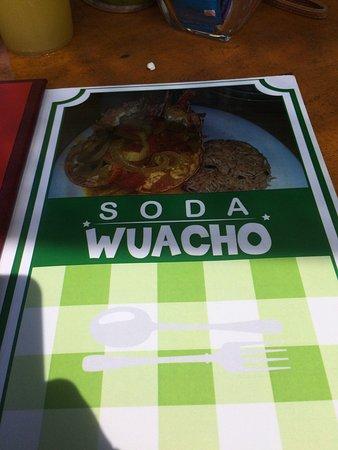 Manzanillo, Costa Rica: Soda Wacho