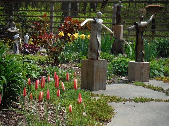 Sculptures In The Garden Picture Of Aspen Glenn Studio Tripadvisor