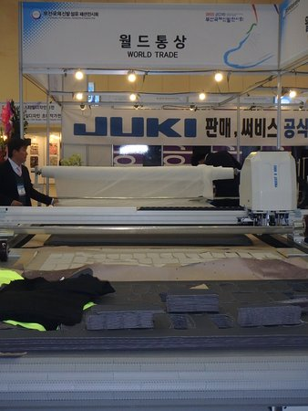 BEXCO (Busan Exhibition & Convention Center): Machinery