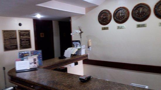 Golden Park Hotel: recepção
