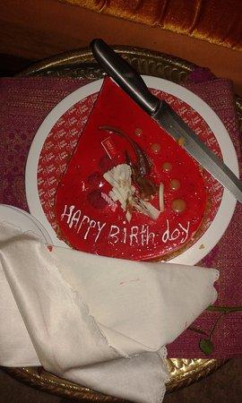 Riad Samsara: Birthday cake