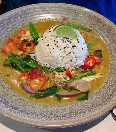 wagamama chicken curry but with a posh name